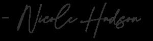 Nicole Hudson Signature